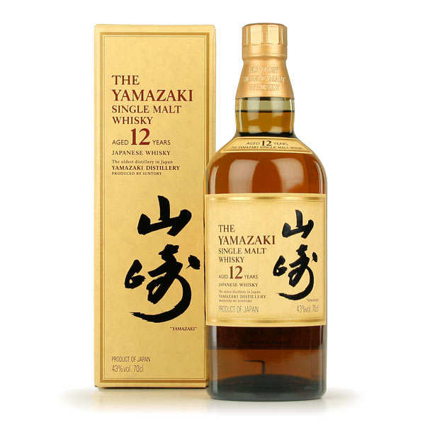 Yamazaki 12-year-old Single Malt Whisky from Japan - 43%