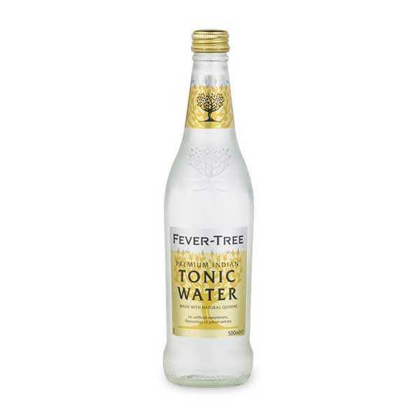 Premium Indian Tonic Water Fever Tree bottle