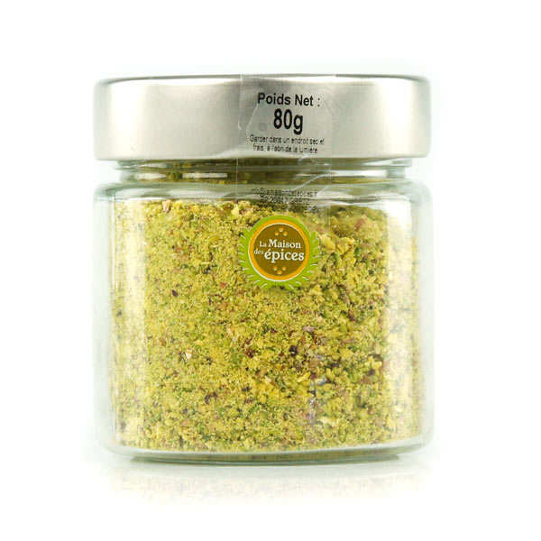 Green pistachio powder