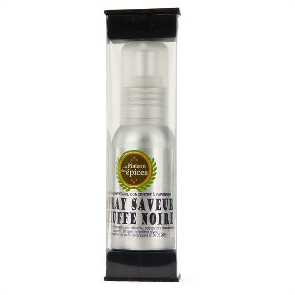 Spray saveur truffe noire