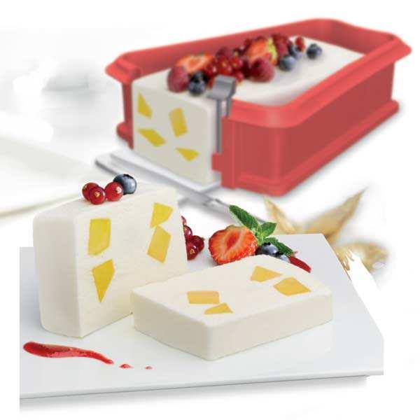 Moule à cake démontable silicone et céramique