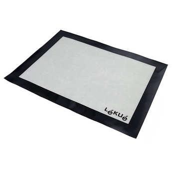 Lékué - Tapis de cuisson en silicone et fibre de verre - Toile patissière