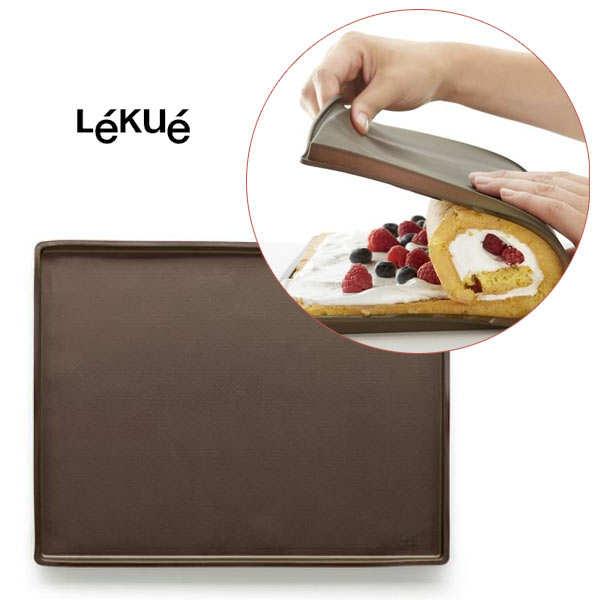 Plaque silicone gateau roul table de cuisine - Plaque a genoise en silicone ...
