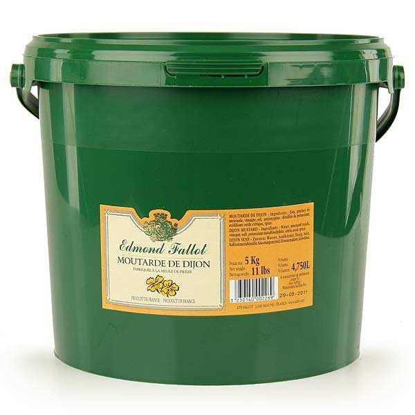 Moutarde de Dijon - le seau de 5kg