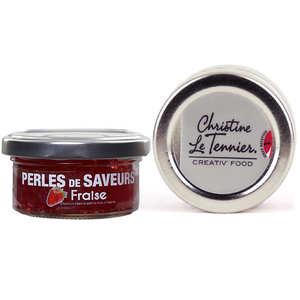 Christine Le Tennier - Perles de saveur à la fraise