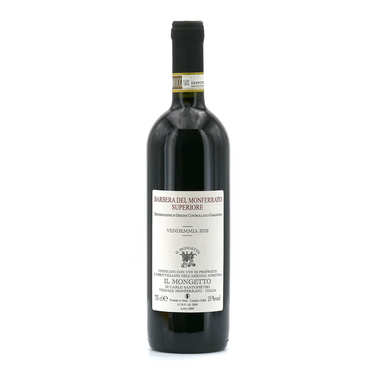 Barbera del Monferrato superiore DOC