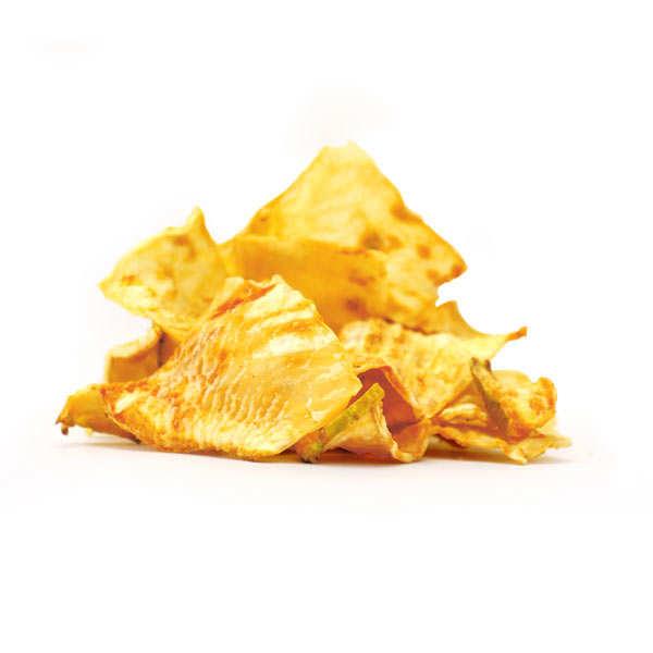 Unsalted organic celeriac chips
