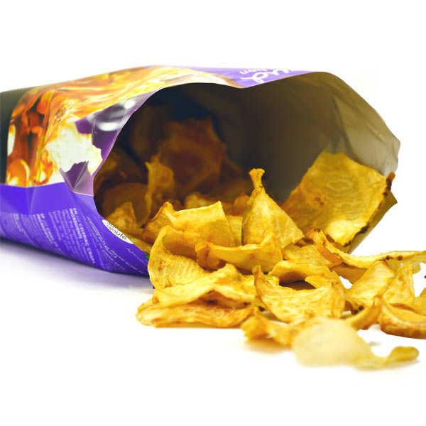 Chips de céleri bio sans sel