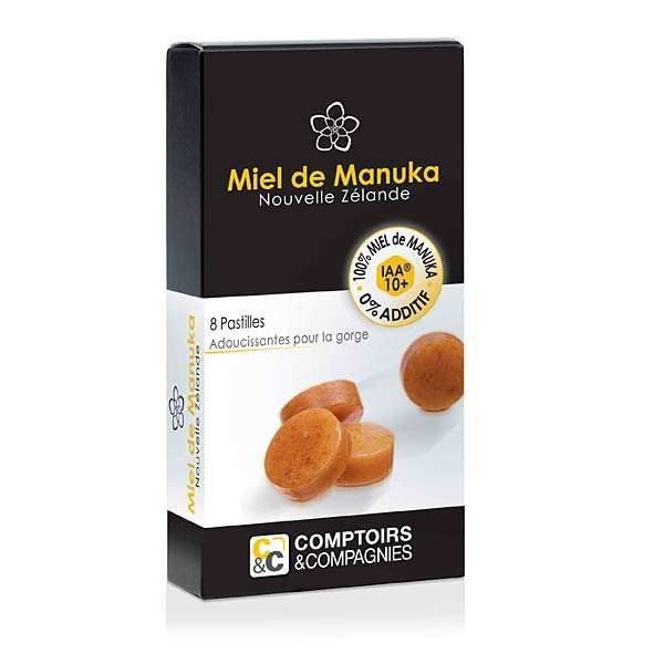 Manuka honey UMF 10+ pastilles
