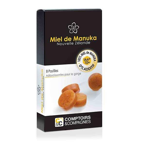 Pastilles pur miel de manuka IAA 10+