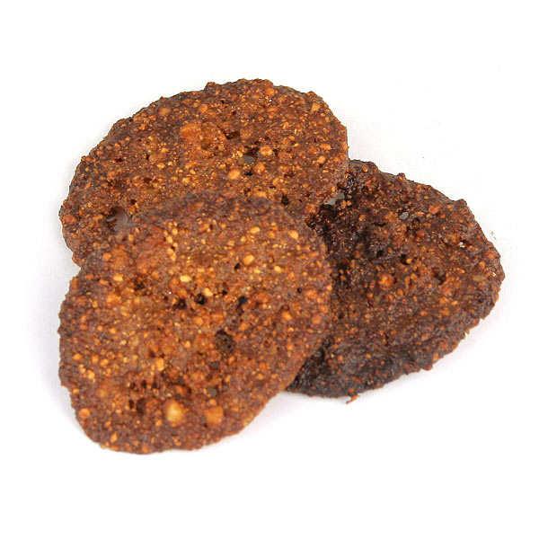 Le schiste - galette dentelle à la farine de châtaigne