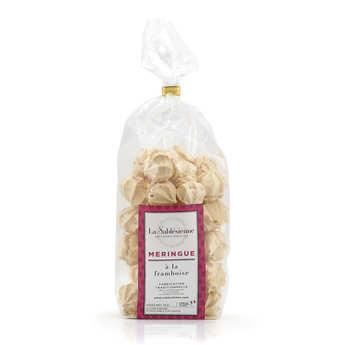 Biscuiterie La Sablésienne - Petites meringues à la framboise - Croq' framboise
