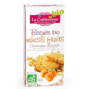 Biscuiterie La Sablésienne - Biscuits bio müesli fruits