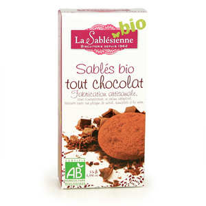 Biscuiterie La Sablésienne - All-Butter French Sablé Chocolate Shortbread