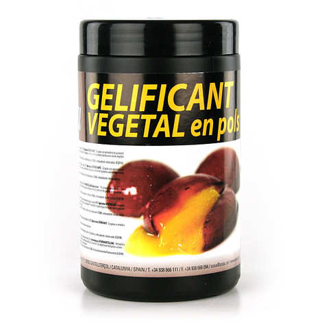 Sosa ingredients - Gélifiant végétal en poudre - Sosa