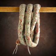 Charcuterie Souchon - Dry sausage with Roquefort cheese from Lozère