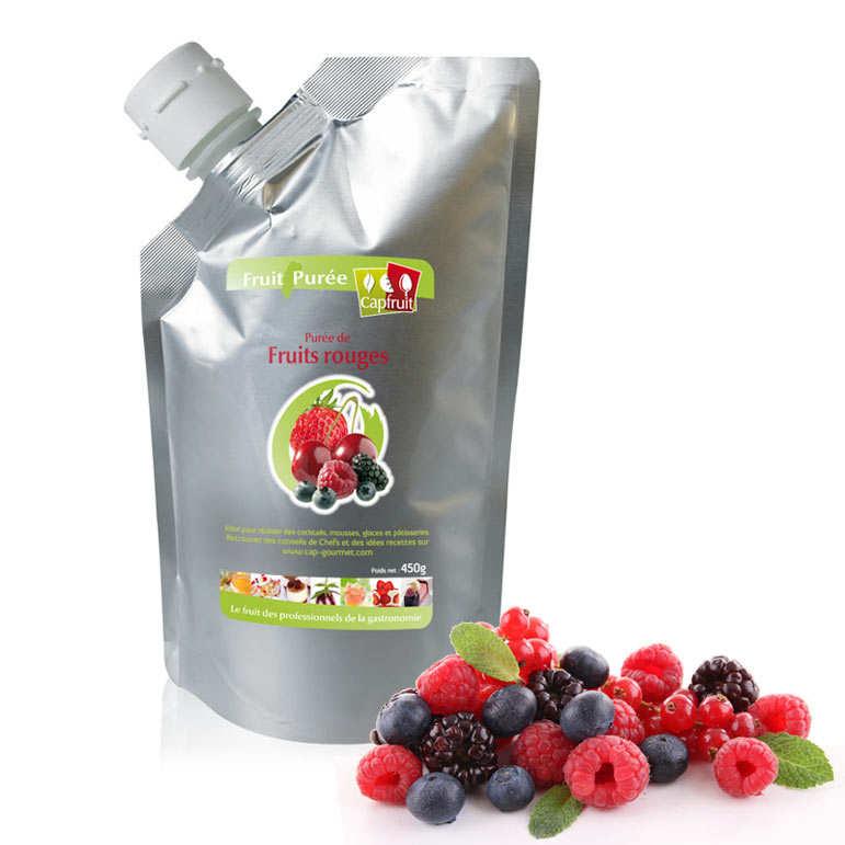 Purée de fruits rouges