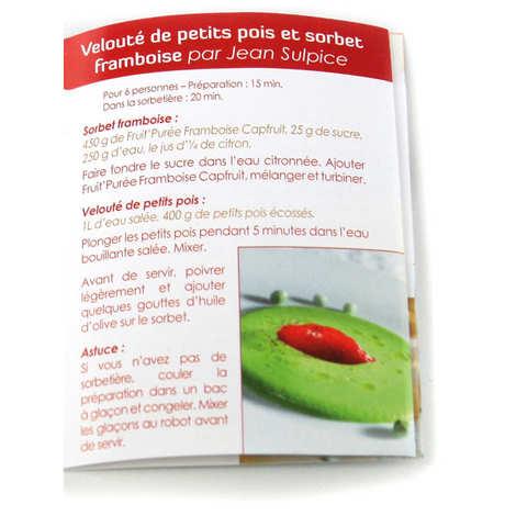 Capfruit - Purée de fruits rouges