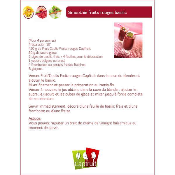Coulis de fruits rouges capfruit for Coulis fruits rouges surgeles