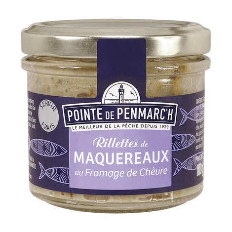 La pointe de Penmarc'h - Rillettes de maquereaux au fromage de chèvre