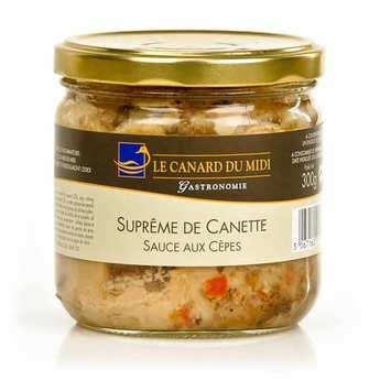Le Canard du Midi - Suprême de canette sauce aux cèpes