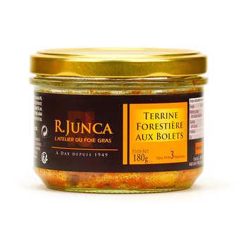 R. Junca - Terrine forestière aux bolets