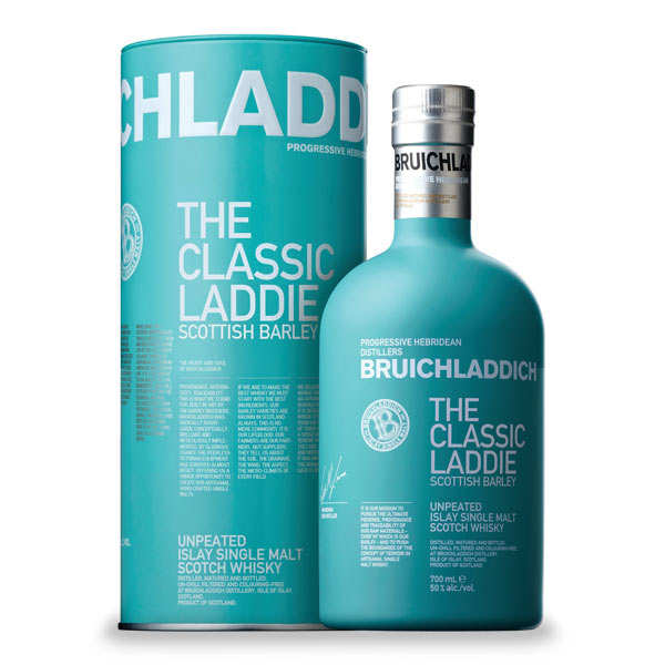 Whisky Bruichladdich the classic Laddie Scottish barley - 46%
