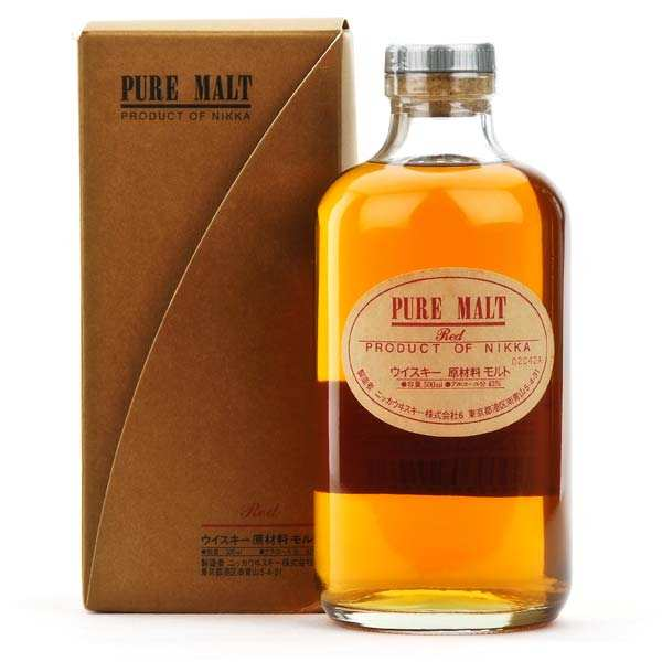 Whisky Nikka pure malt red - 43%
