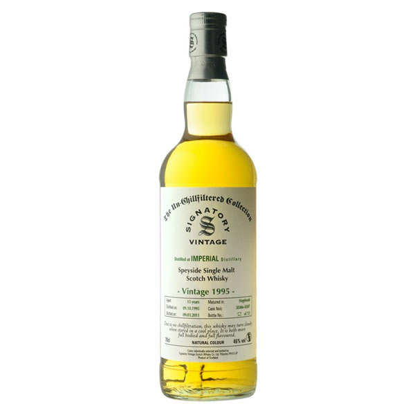 Whisky Imperial 20 ans 1995 - 46%