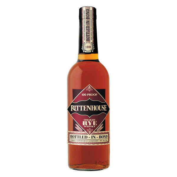 Rittenhouse 100 Proof - Kentucky Rye Whisky - 50%