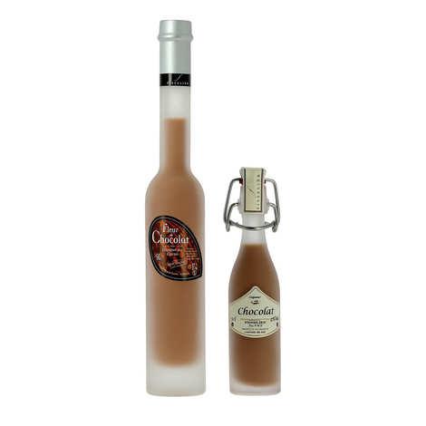 Liqueurs Fisselier - Fleur de chocolat - Crème de liqueur au cacao - 17%