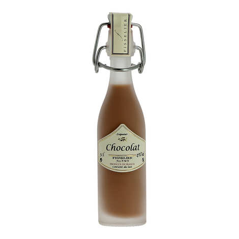 Liqueurs Fisselier - Fleur de Chocolat - Chocolate Cream Liqueur - 17%