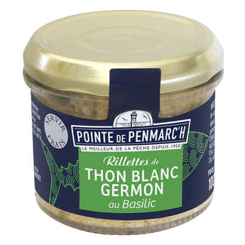 La pointe de Penmarc'h - Tuna rillette with basil
