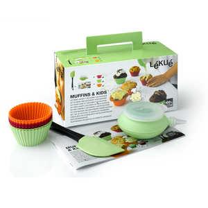Lékué - Creative Cuisine Kit for Kids - Muffins & Cupcakes