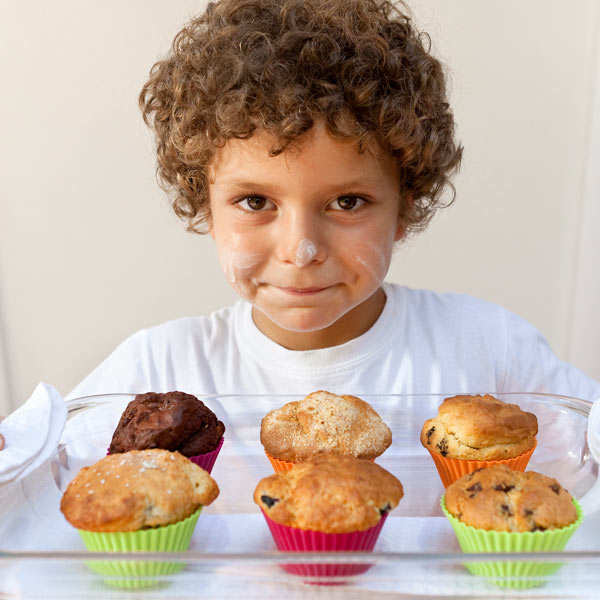 Creative Cuisine Kit for Kids - Muffins & Cupcakes
