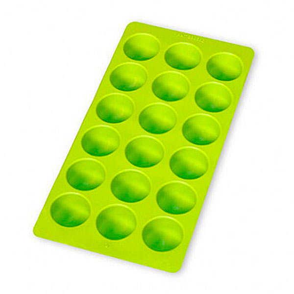 Ice cube tray - demi-spheres
