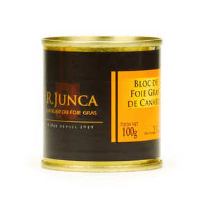 Le Canard du Midi - Block of Duck Foie Gras - Tin