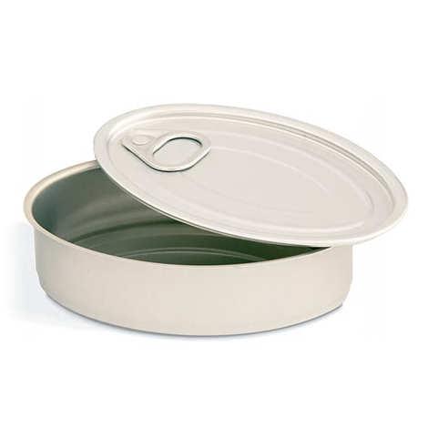 100 % Chef - Boites de conserves de présentation avec couvercles