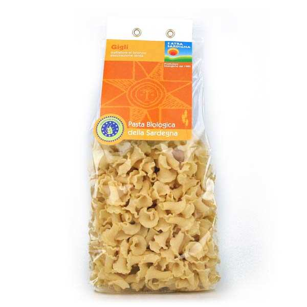 Organic italian pasta (gigli shape)
