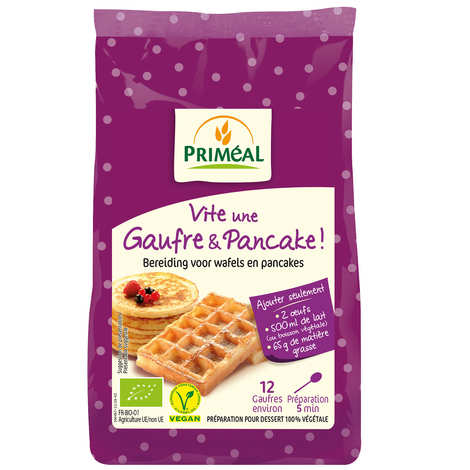Priméal - Organic mix for waffles and pancakes