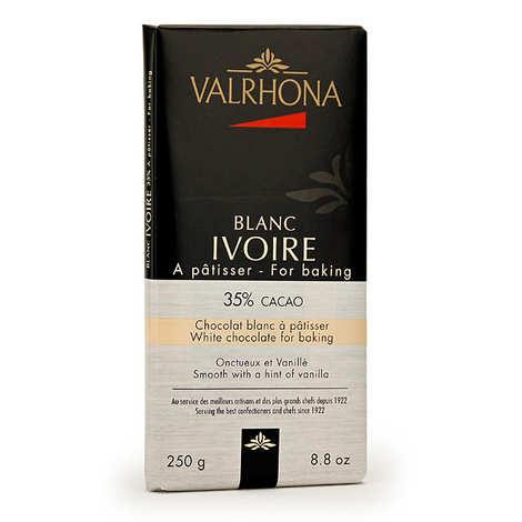 Valrhona - Bar of white cooking chocolate 35% cocoa - Valrhona