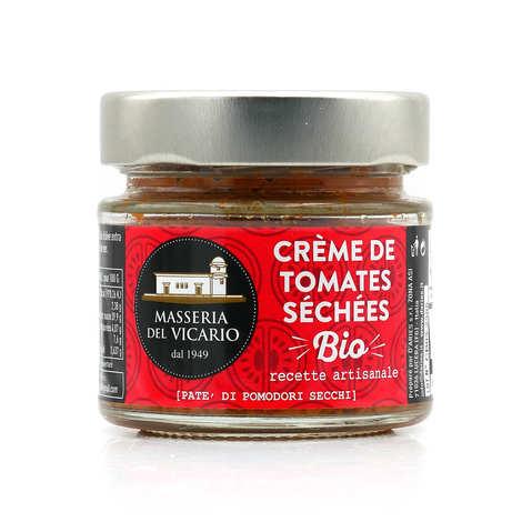 masseria del Vicario - Crème de tomates séchées à l'huile d'olive bio - Pate' di pomodori secchi