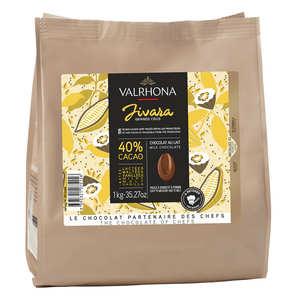 Valrhona - Grand Cru Milk Baking Chocolate Jivara 40%