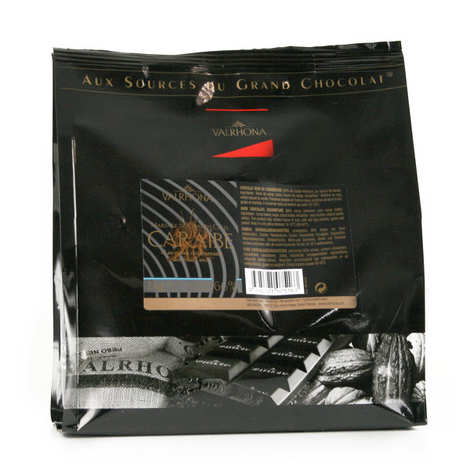 Valrhona - Grand Cru Dark Baking Chocolate Caraïbe 66%