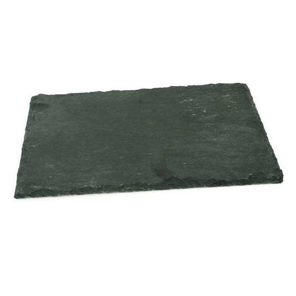Assiette ardoise rectangle 30x20cm