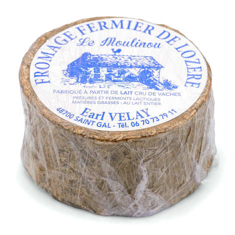 EARL Velay - Le Moulinou - Farmhouse cheese from Lozere with raw cow's milk