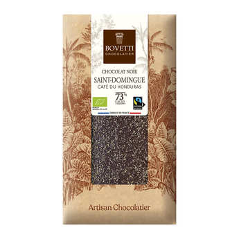 Bovetti chocolats - Organic dark chocolate ethiopia coffee