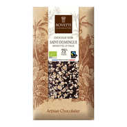 Bovetti chocolats - Organic dark chocolate with nuts