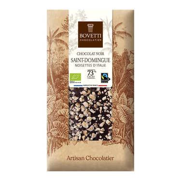 Tablette chocolat noir Bio noisette