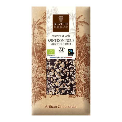 Bovetti chocolats - Organic dark chocolate with nuts